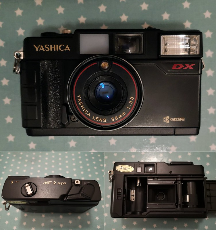 Montage of Yashica MF-2 Super