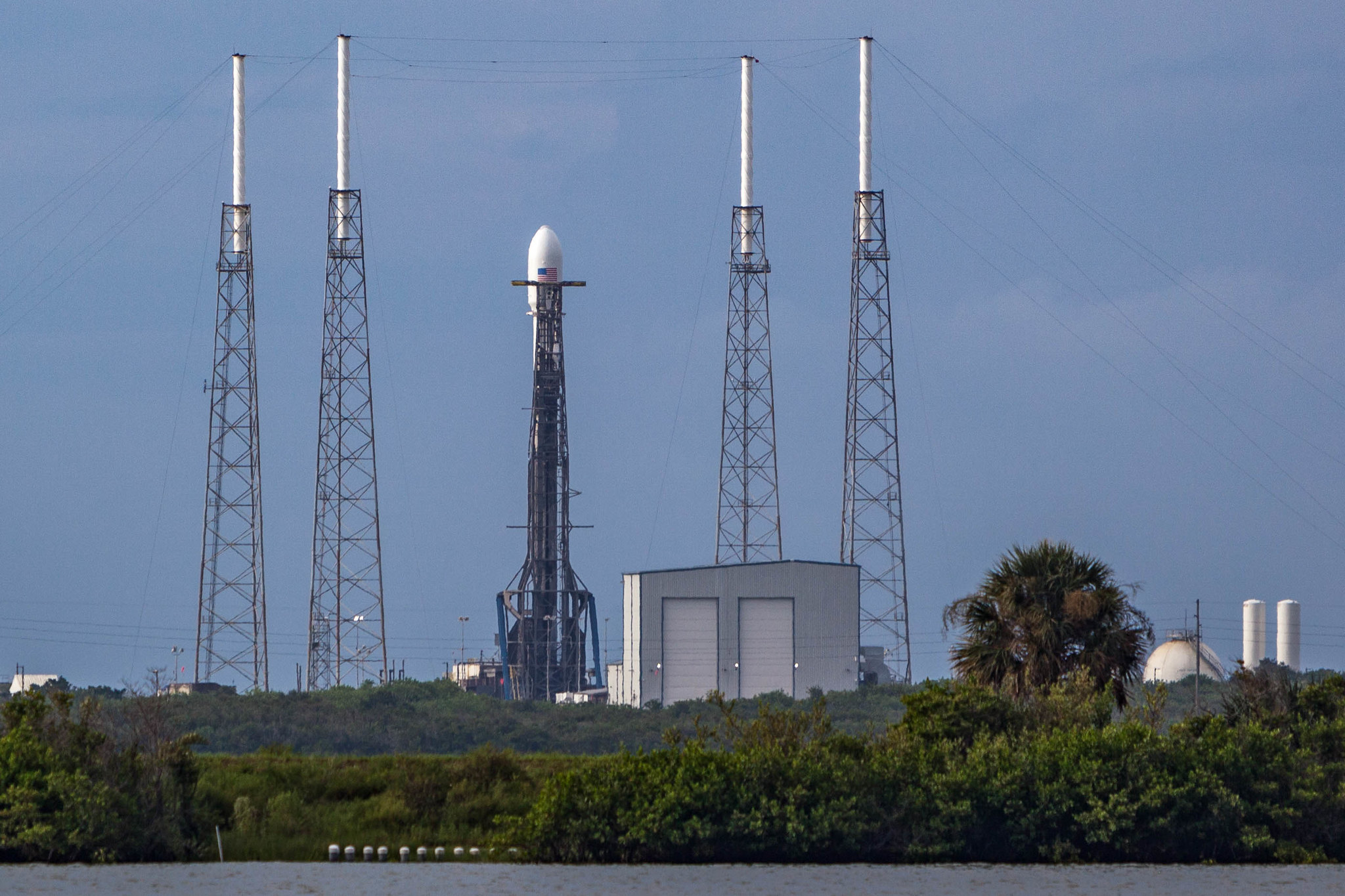 SpaceX Falcon 9 - AMOS-17
