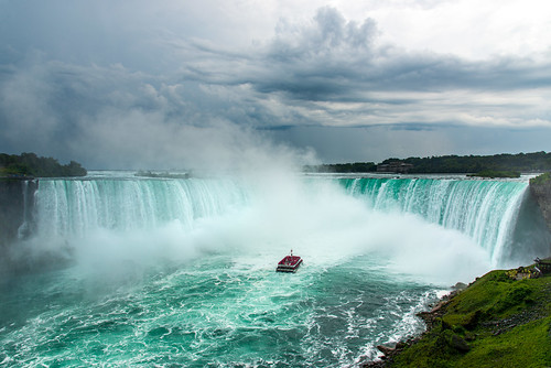 Stormy Skies over Niagara Falls | by Pam & Ben