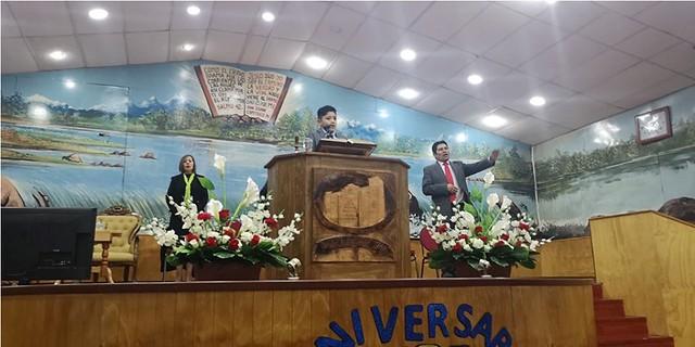 Iglesia de Puerto Aysén, Celebra 58 Años predicando el evangelio.