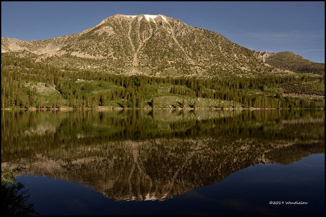 Rock Creek Lake reflecting