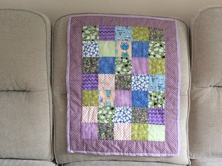 Doll's quilt for Georgie