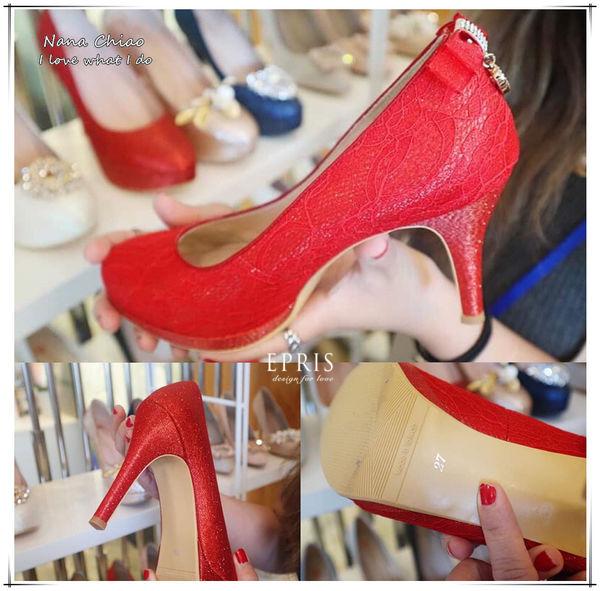 台中婚鞋 紅色高跟鞋
