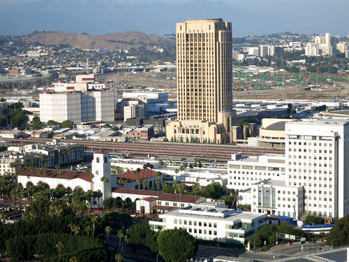 Union Station as seen from L.A. City Hall (5326)