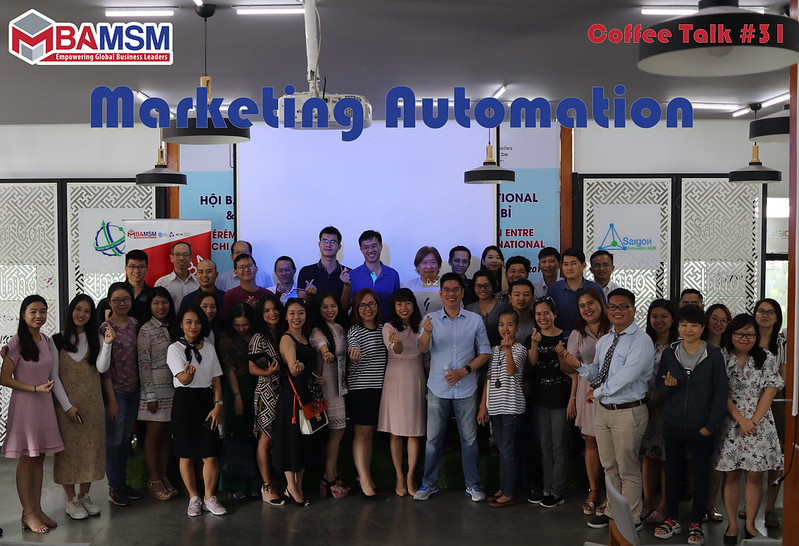 MSM MBA Coffee Talk #31: MARKETING AUTOMATION