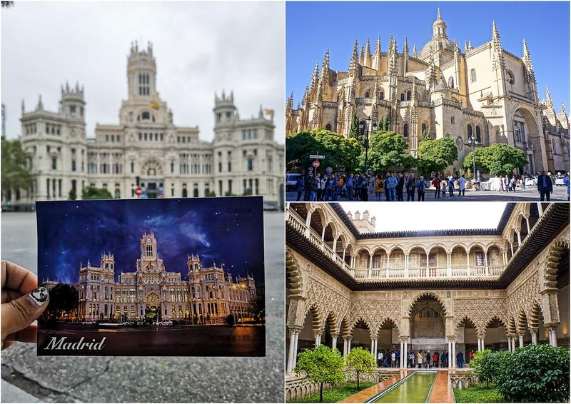 2018 Spain Madrid, Segovia & Seville