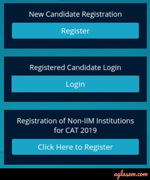 CAT 2019 Registration [Live Updates]: Link, Fee, Important Documents