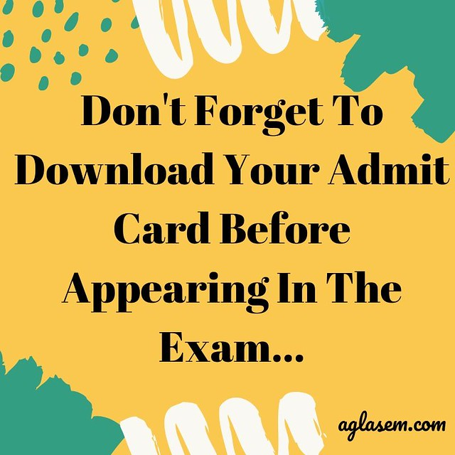 MP Madarsa 10th Admit Card December 2019
