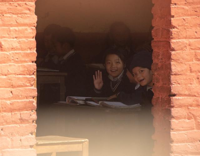 Passage au Helpless Children Mother Center