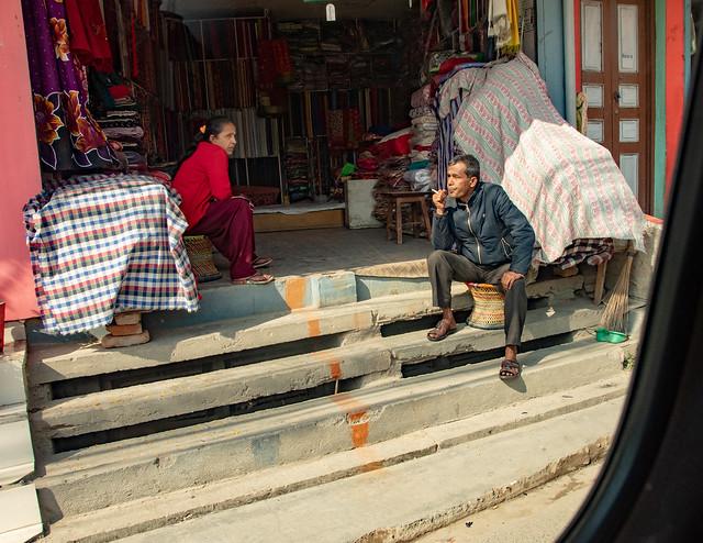 Portraits dans les rues de Katmandou