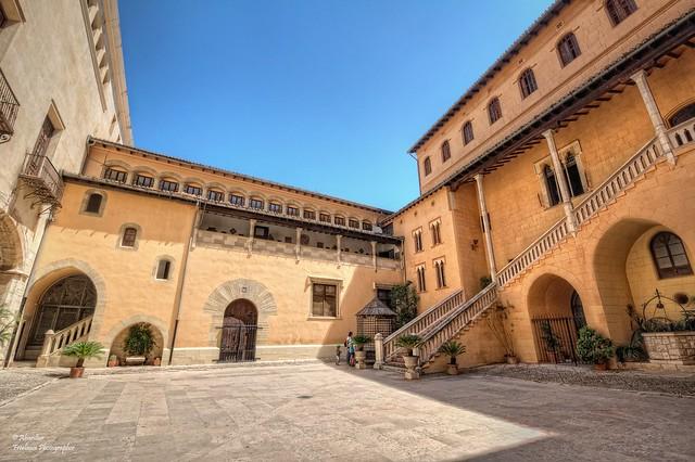 Pati d'Armes (I). Palau Ducal de Gandia