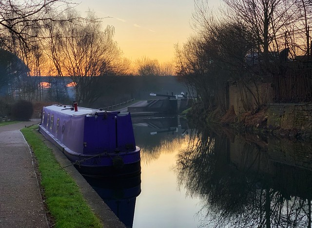 Dawn at the Canal
