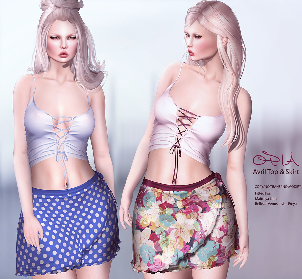 OPIA Avril Top & Skirt