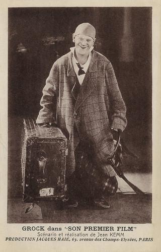 Grock in Son premier film (1926)