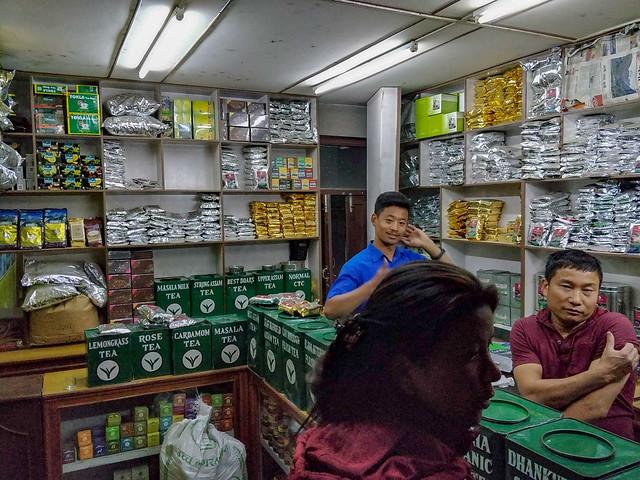 Vendeur de thé