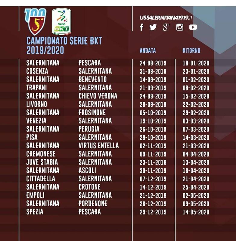 Calendario Benevento Calcio.Calcio Svelato Il Calendario Delle Gare Di Serie B Esordio