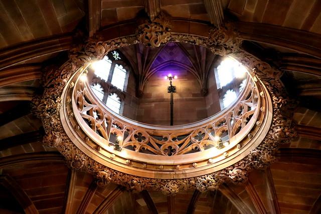 Visitar biblioteca John Rylands de Mánchester