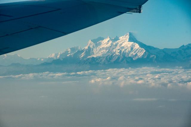 Les montagnes en partant