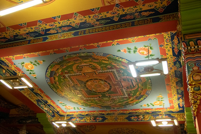 Puja au temple