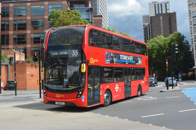 YX18 KPJ (EH219) Go-Ahead London Central