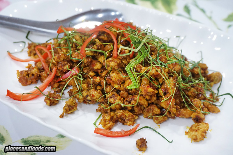 khrua bai toey spicy pork