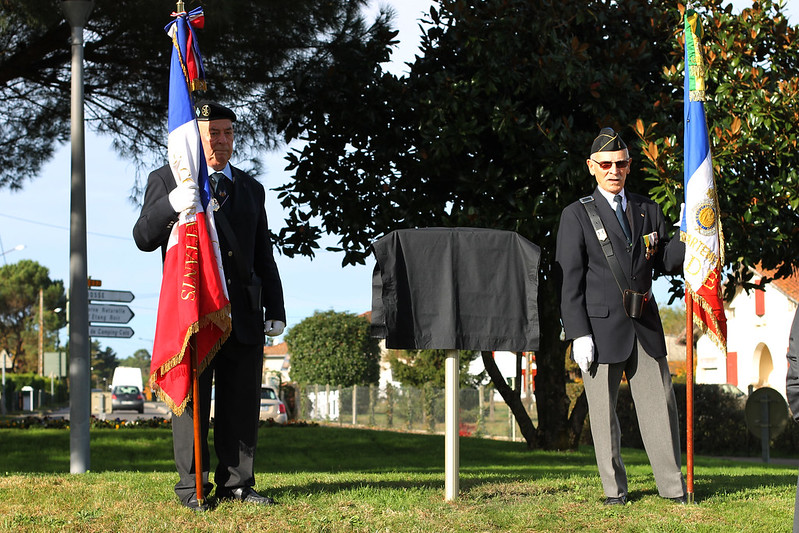 inauguration rond-point centenaire de la guerre 14-18 > 2018