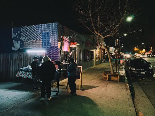 street taco stand.