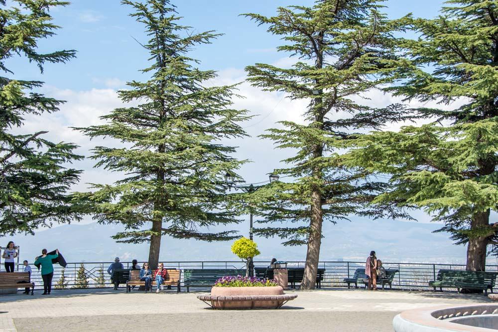 Тбилиси парк Мтацминда