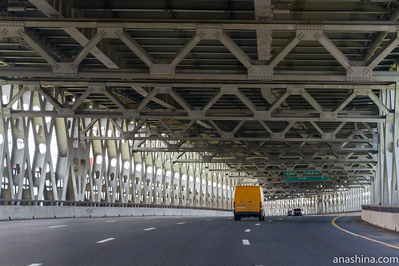 Двухъярусный мост через Морской канал, ЗСД, Санкт-Петербург