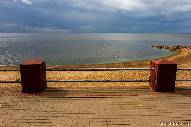 Смотровая площадка в Репино, Финский залив