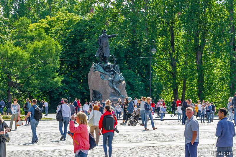 Памятник Степану Осиповичу Макарову, Кронштадт