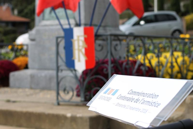 Commémoration Centenaire de l'armistice 2018