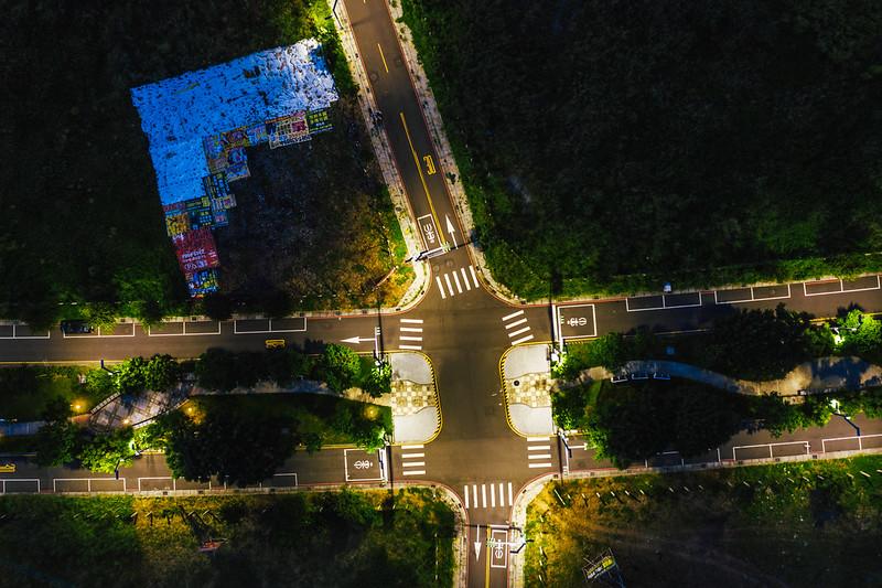 發光十字路|TAICHUNG