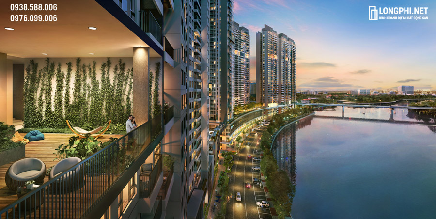 Dự án căn hộ The Loft tại Riviera Point quận 7 của Keppel Land đầu tư phát triển.