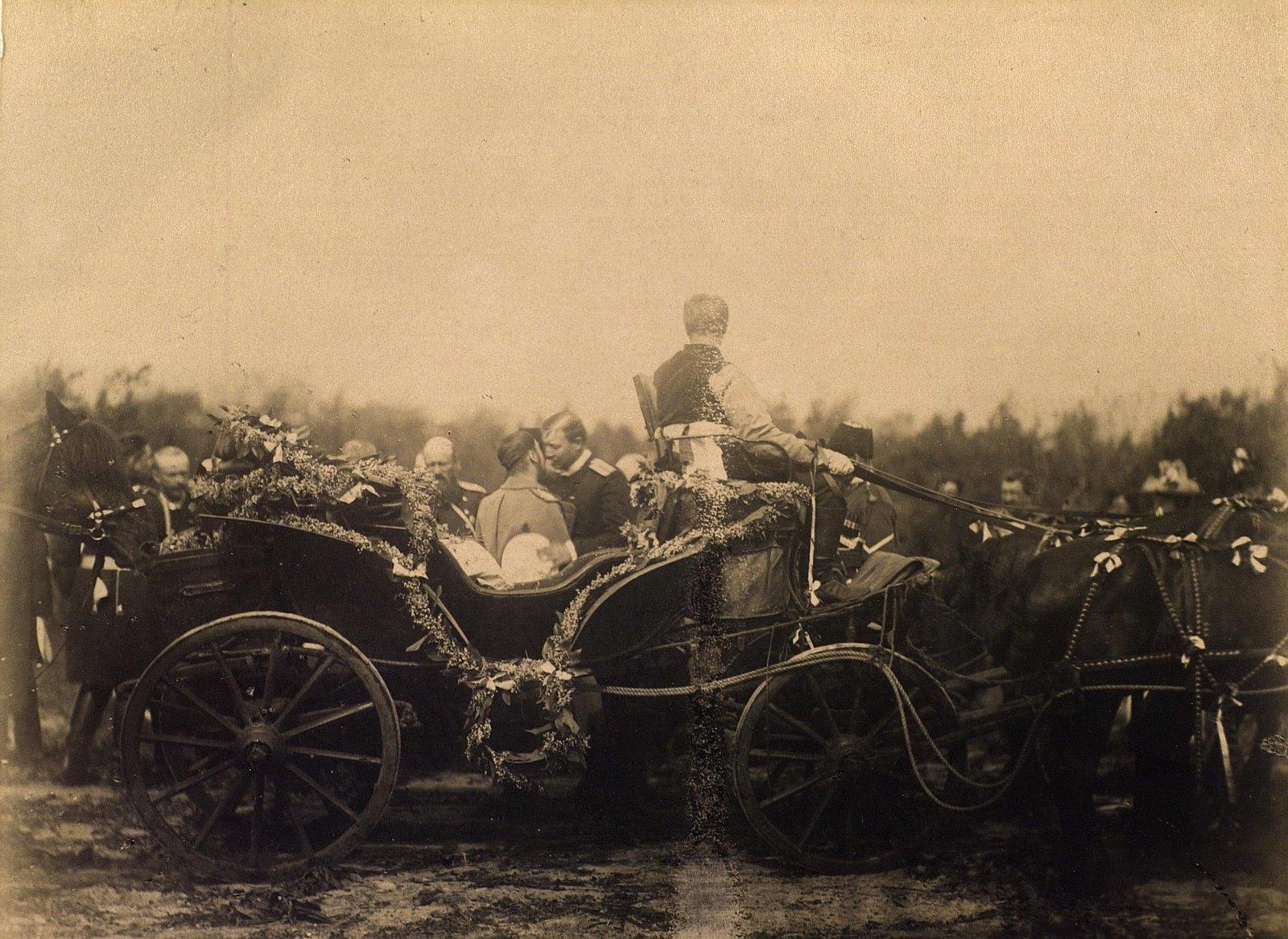 22. 1891. Отъезд Цесаревича Николая Александровича из Владивостока в Сибирь