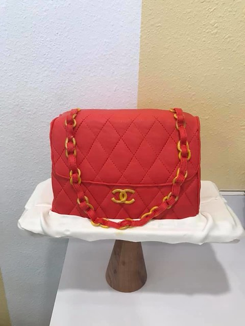 Chanel Purse Cake by Astoria Pastry Shop & Coffee