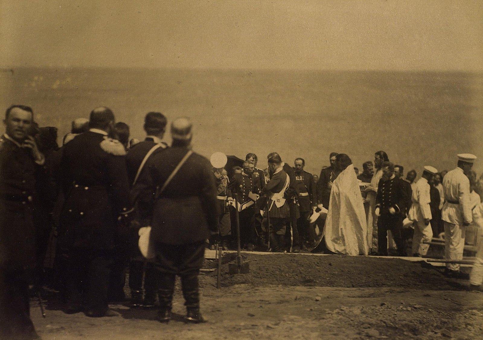 13. 1891. Владивосток. Закладка Великой Сибирской ж. д. Е. И. В. наследником цесаревичем.