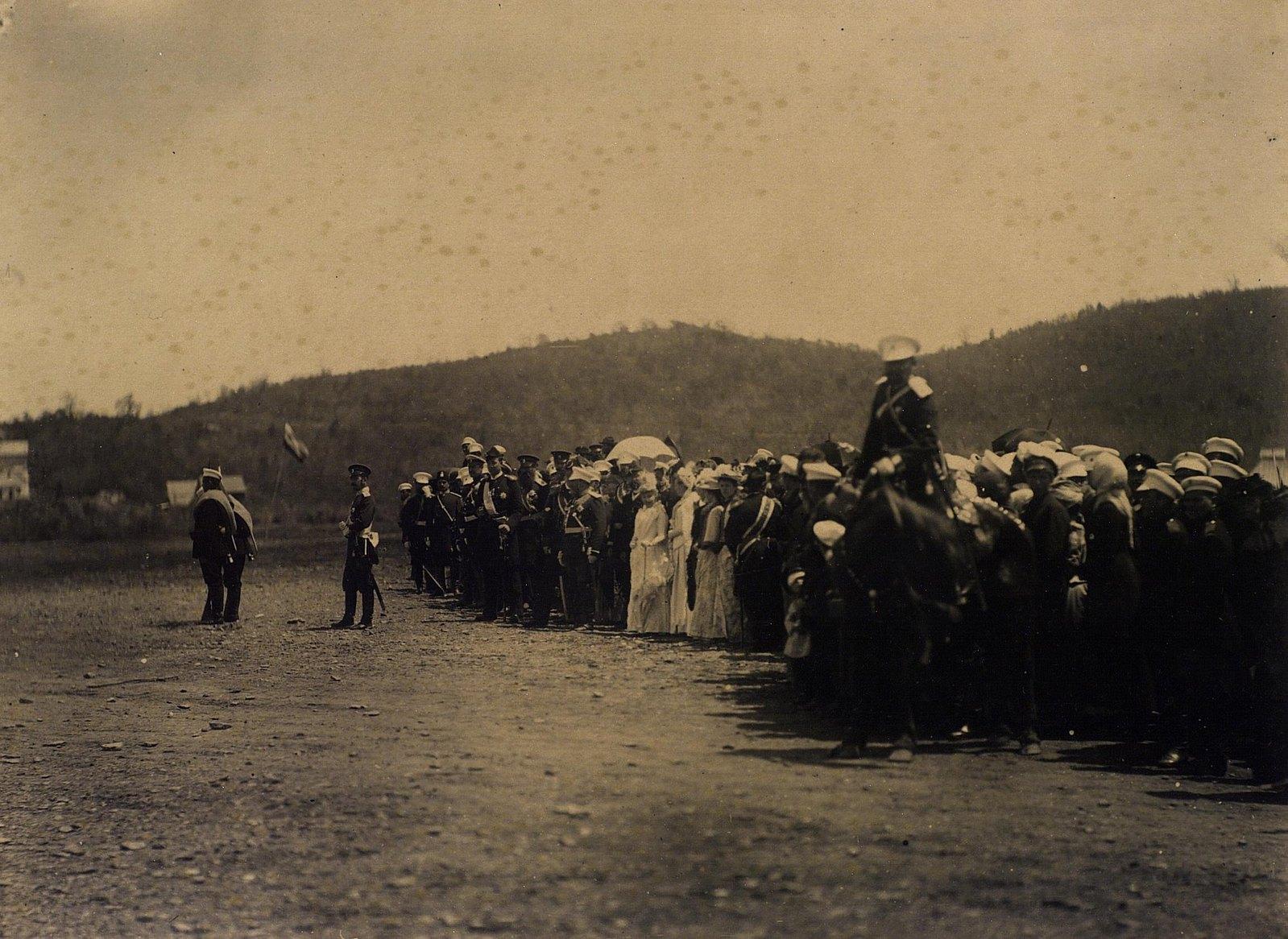 07. 1891. Владивосток. Смотр местным войскам