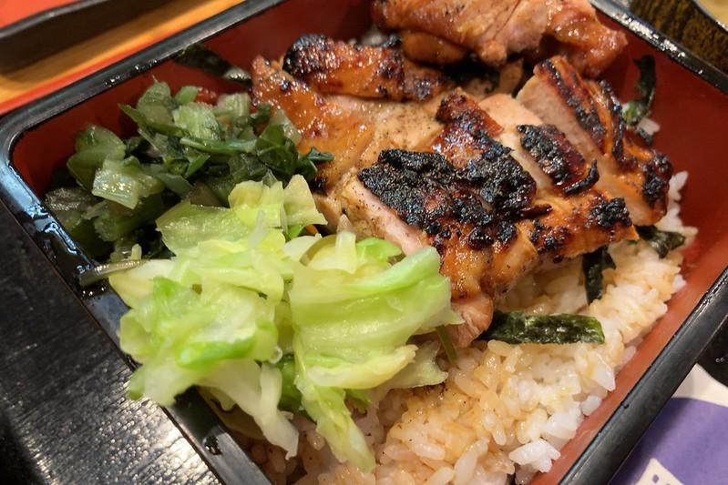 日比谷プレスセンタービルおか田キジ弁当+お新香