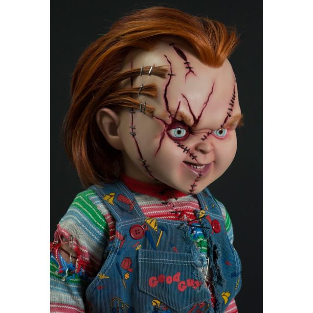 殺人鬼娃恰吉獵奇現身!! TRICK OR TREAT STUDIOS《鬼娃新娘之鬼娃也有種》恰吉 Chucky 1:1 比例玩偶
