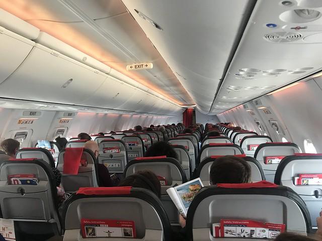 Mobile upload - seat 19E EI-FJN B737-8 Norwegian Express HEL-LGW 1-8-19