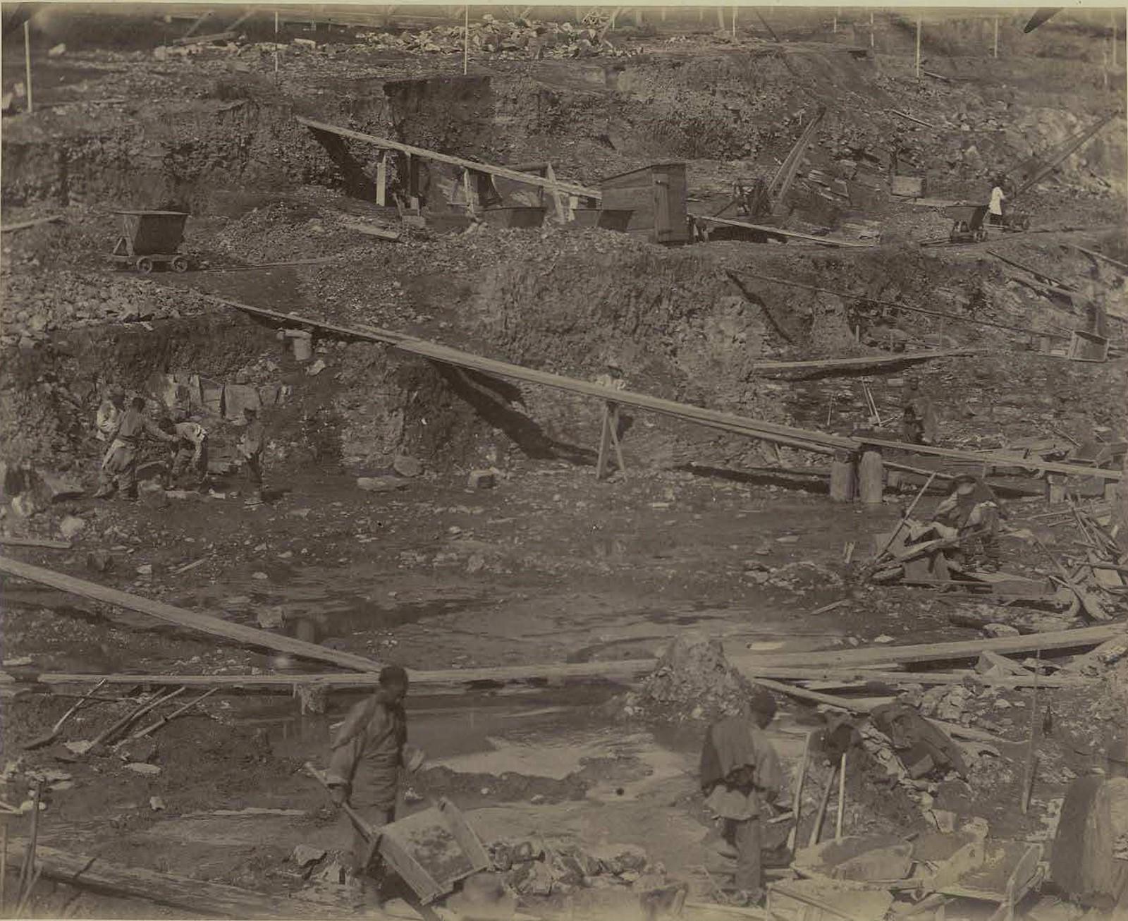 19. 1891. Владивосток. Работа дока