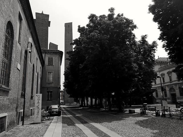 Medieval towers, near the University of Pavia