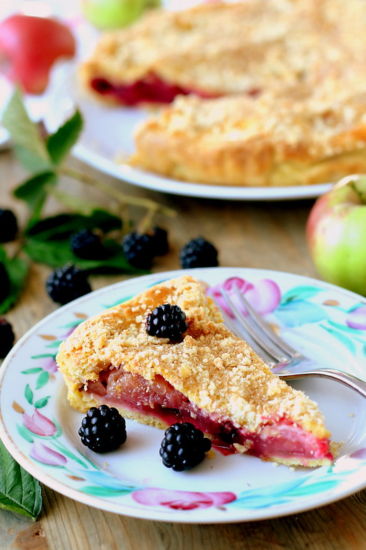 appleblackberry pie  6