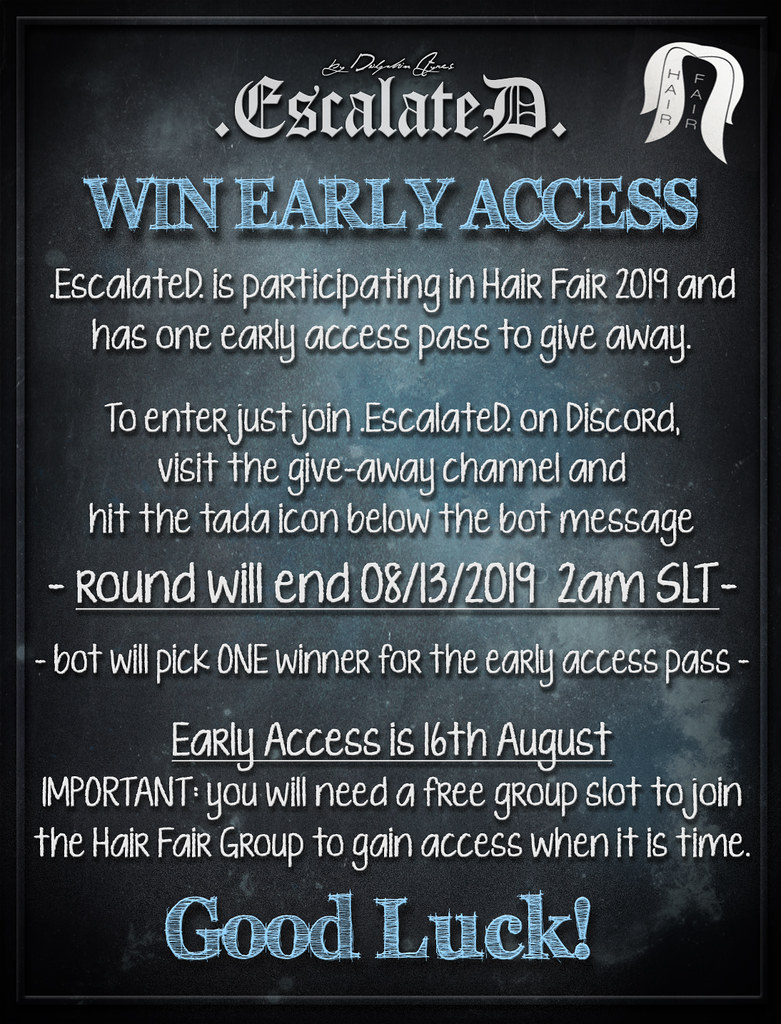 Win 1x Early Access Pass for Hair Fair 2019