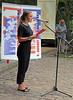 Hiroshima-Jahrestag 2019 an der Friedensglocke Berlin