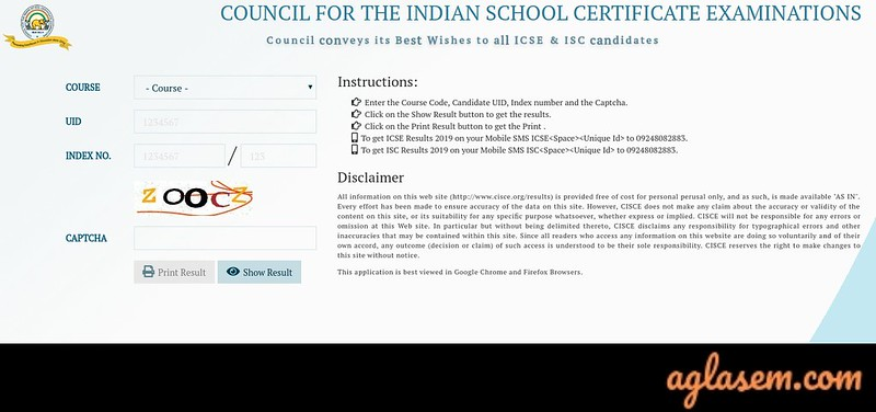ICSE Compartment Result 2019