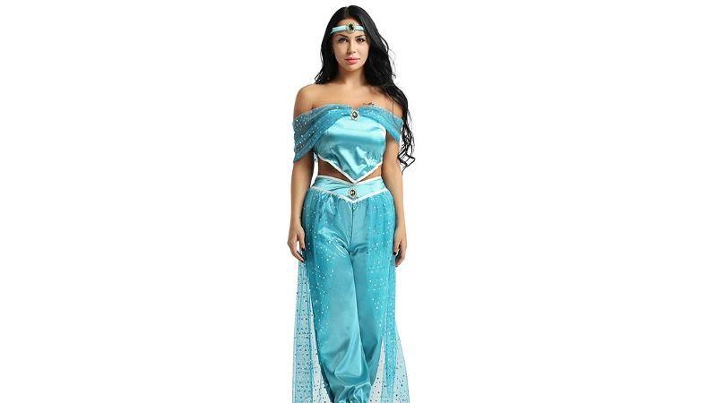 halloween costume princess jasmine 2019