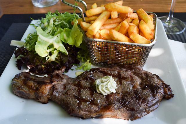 Entrocote Steak in Combourg, Brittany