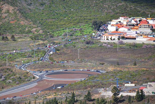 Roundabout at Santiago del Teide, Tenerife